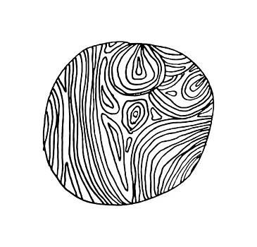 Woodprint 4 by Cortney Herron