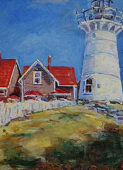 Woods Hole Light   by James Reynolds
