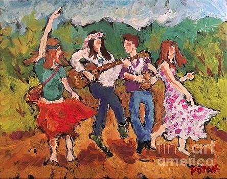 Woodstock Minstrels  by Russ Potak
