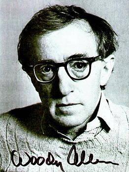 Pd - Woody Allen Autographed Portrait