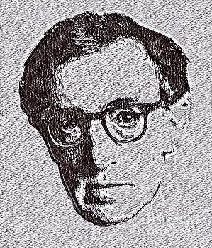Woody Allen Drawing  by Pd