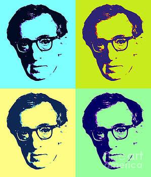 Woody Allen Pop Art Poster by Pd