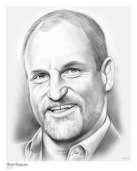 Woody Harrelson by Greg Joens