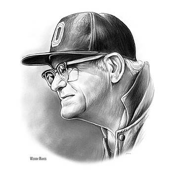 Woody Hayes by Greg Joens