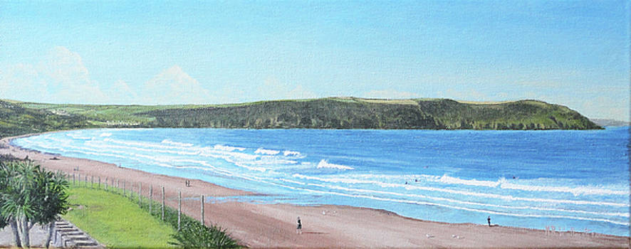 Woolacombe Bay, North Devon by Mark Woollacott