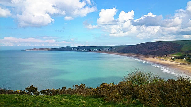 Woolacombe Bay North Devon by Richard Marks