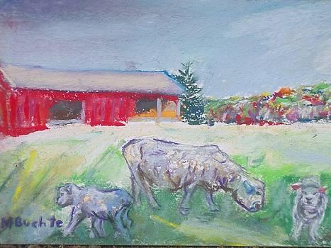 Woolies In Autumn by Margaret Buchte