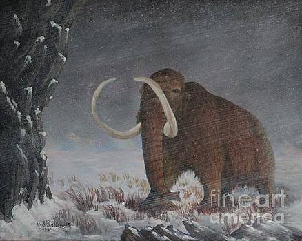 Wooly Mammoth......10,000 Years Ago by Bob Williams