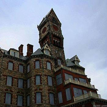 Worcester State Hospital, Worcester Ma by Kerri Ann Crau