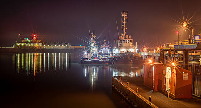 Work Boats In Ramsgate Royal Harbour by David Attenborough