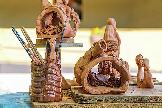 Work in clay by Paulo Goncalves