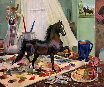 Work In Progress Seven by Jeanne Newton Schoborg