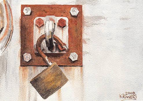Ken Powers - Work Trailer Lock Number Two