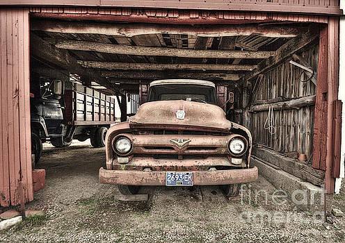 Work Truck by Karen Hofmann