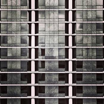 Work Wall #blackandwhite #wall #wegram by Sean Wray