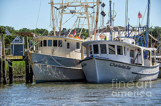 Working Boat Charleston Star by Dale Powell