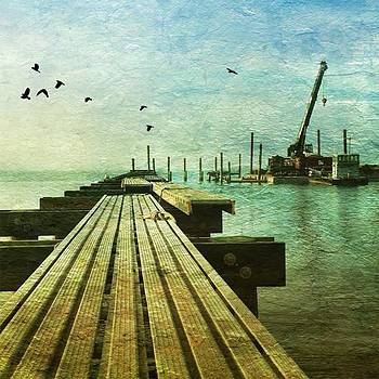Working Harbor! #insearchofsunset by Visions Photography by LisaMarie