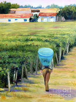 Working in the Vineyard by Patricia Huff