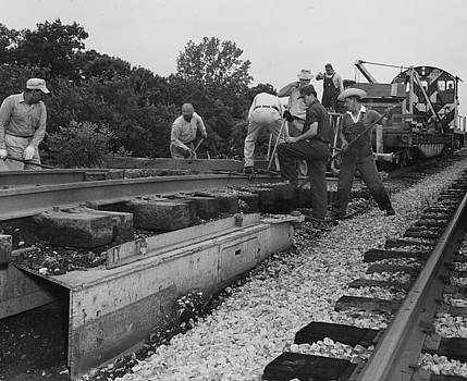 Chicago and North Western Historical Society - Working on the Line - 1957