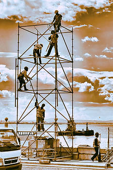 Working towards the Heavens by Menega Sabidussi