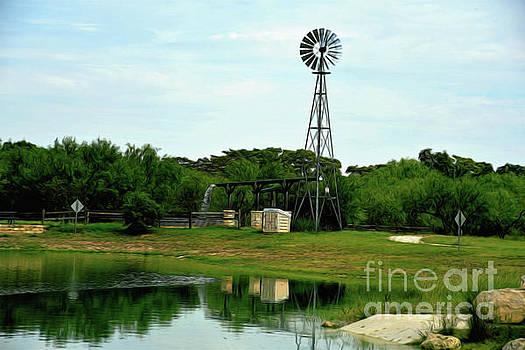 Working Windmill 2 by Ray Shrewsberry