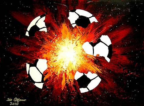 World Cup Soccer Love Explosion by Teo Alfonso