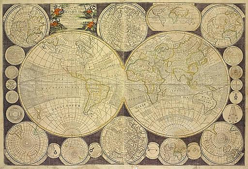 Ricky Barnard - World Map from 1798