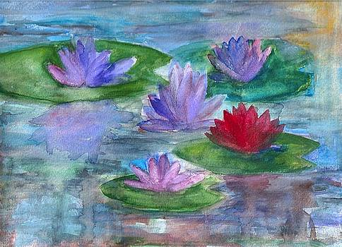 World of Water Lilies by Claudia Smaletz