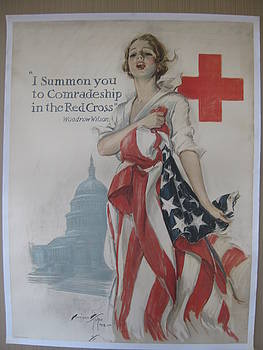 World War I poster by Harrison Fisher