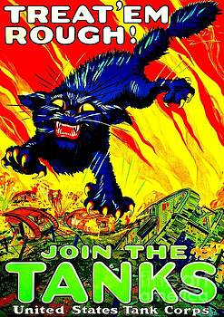 Peter Ogden - World War I United States Tank Corps Recruiting Poster