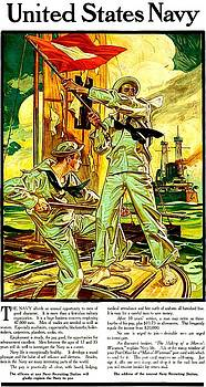 Peter Gumaer Ogden - World War I U S Navy Recruiting Poster 1910