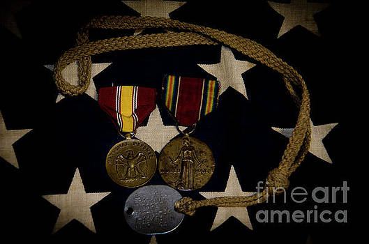 Dale Powell - World War II Medals
