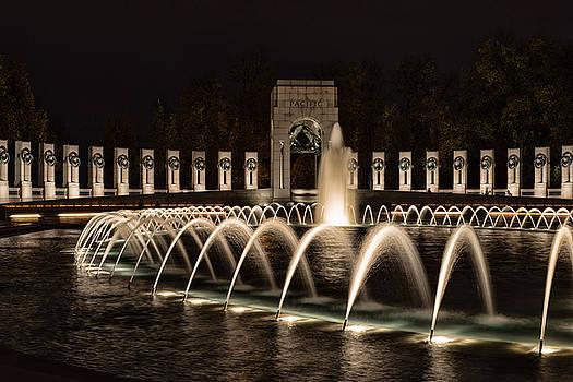 World War II Memorial by Richard Macquade