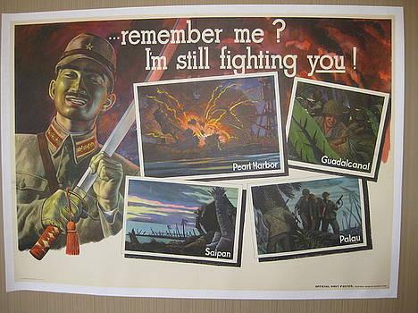 World War II poster by P Kolada