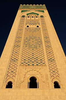 Reimar Gaertner - Worlds tallest minaret of the Hassan II Mosque in Casablanca Mor