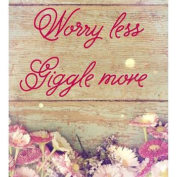 Worry Less by Kimberly Landry