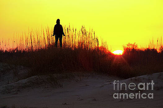 Worship the Sun on the Outer Banks by Dan Carmichael
