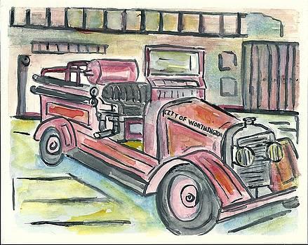 Worthington Fire Engine by Matt Gaudian