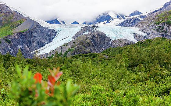 Worthington Glacier by Kyle Lavey