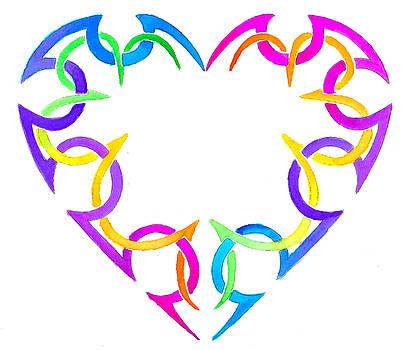 Woven Heart by Sarah Krafft