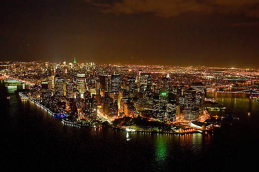 WOW  New York City at night by John Majoris