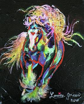 Wraggle Taggle Gypsy Cob by Louise Green