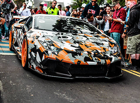 Wrapped Lamborghini by Agustin Urbano