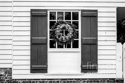 Wreath, Windows and Shutters by Thomas Marchessault