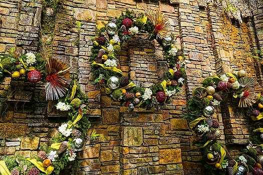 Wreaths on the Wall by Rodney Lee Williams