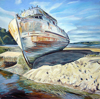 Wreck of the Old Pt. Reyes by Colleen Proppe