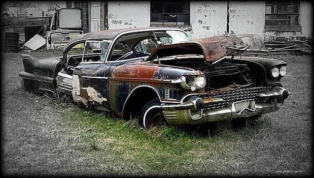 Peter Ogden - Wrecked 1958 Sixty Special Cadillac