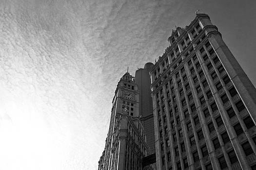 Wrigley Building II by Jane Melgaard