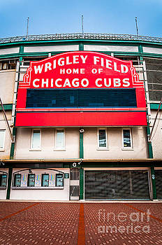 Paul Velgos - Wrigley Field Sign Photo