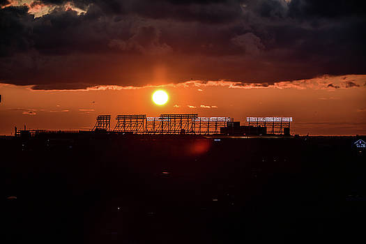 Wrigley Field Sunset by Eric Formato